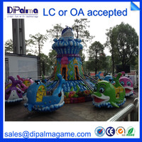 outdoor amusement park rides fairground equipment for kids play