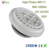12w cree super bright led work light AR111 12v