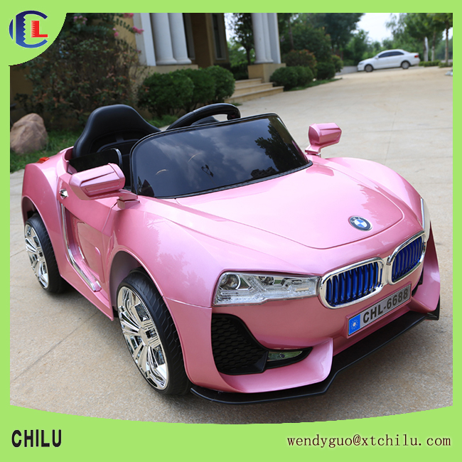 Pink color children electric toy car/kids electric car toys(factory)