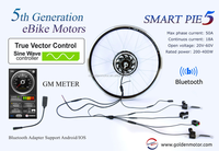 New Vector controller, MP5/SMP5 electric bicycle conversion kit , Ebike motor , WITH bluetooth adapter