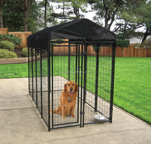 Kennel Runs Folding Metal Welded Wire Mesh Panel For Dogs