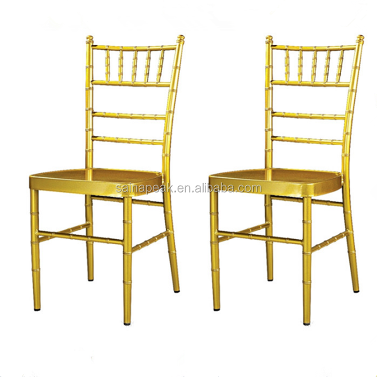 High quality resin chaivari gold chair tiffany chiavari chair wedding chair