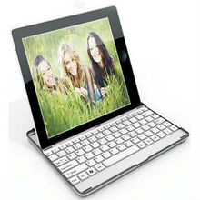 Bluetooth clavier aluminium cas de protecteur Stand pour Apple iPad 2 / 3 / 4 Tablet