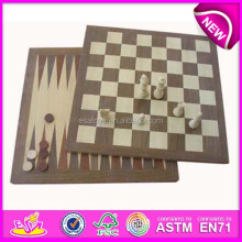 2015 New and popular mini wooden chess backgammon toy,MID EAST STYLE travel game wooden chess backgammon WJ277114