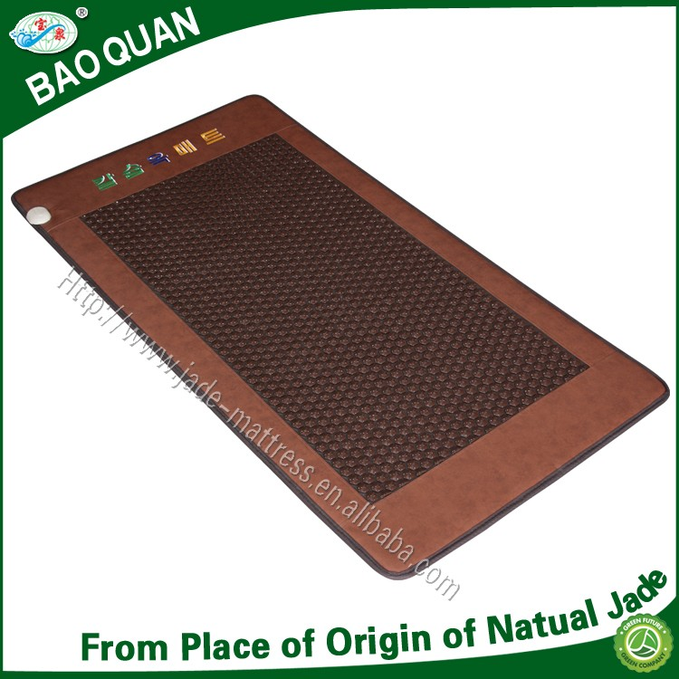 Fashionable korea style Nuga best similar health care far infrared acupuncture hexagon germanium single bed mattress