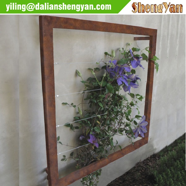 Wall Mounted Iron Garden Trellis