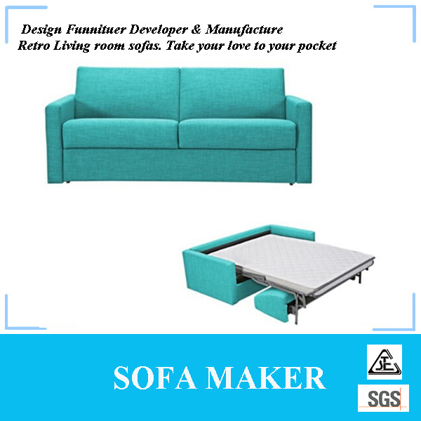 Fancy multifunctional Living Room Furniture Fabric Sofa Bed MY086