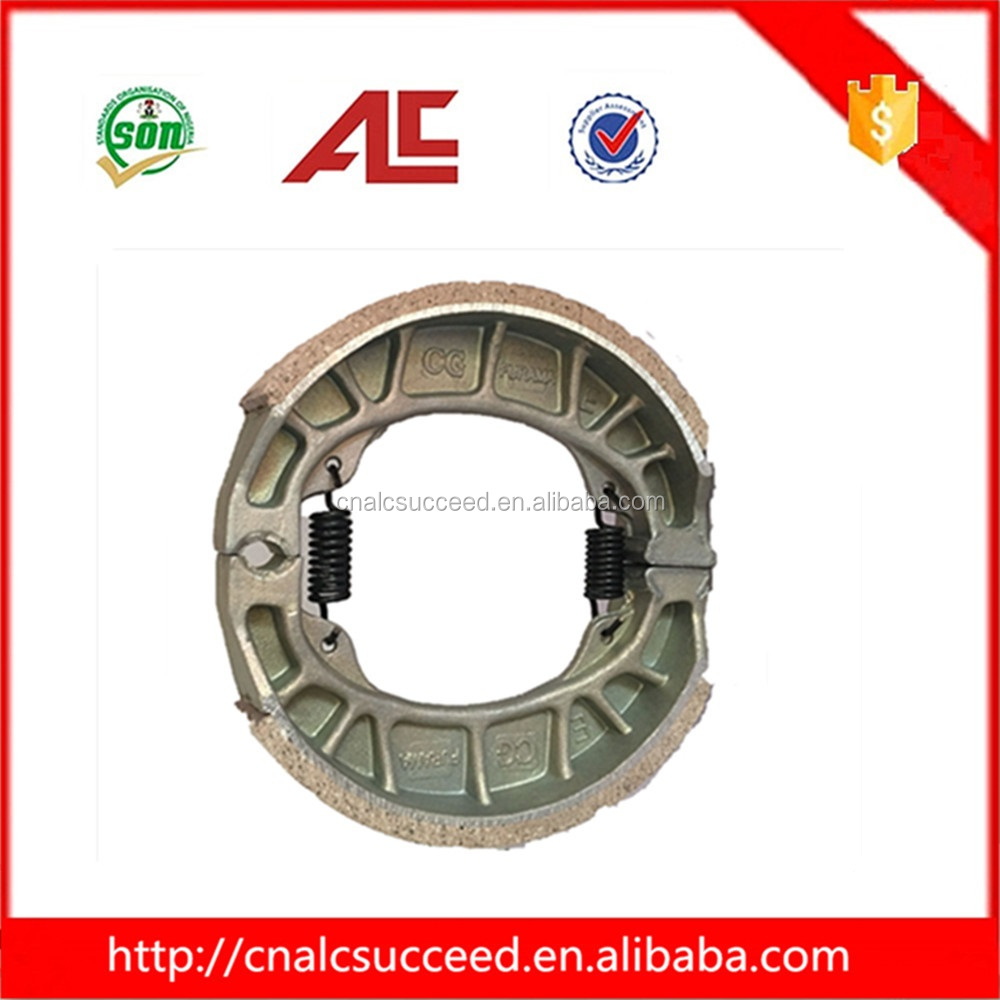 China factory CG Series model number motorcycle brake shoes