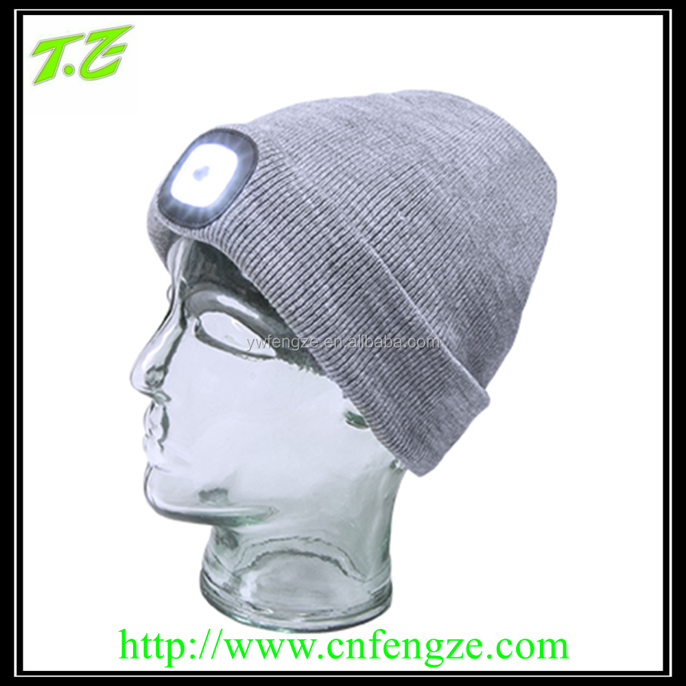 beanie with led light, LED beanie hat
