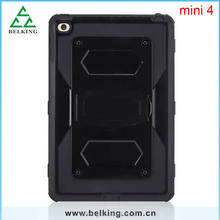 For iPad Mini 4 PC Cover Case / Back Cover Stand Holder For iPad Mini / For iPad Mini Waterproof Case