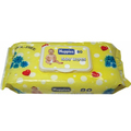 Alcohol free 80pcs sensitive baby wipes with lid