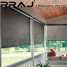 RRAJ China Factory Building Window Sunshade Blinds with Side Track