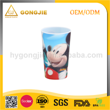 Taizhou Gongjie PP The Most Popular Cartoon Colorful Fancy Plastic Ice Cream Cup