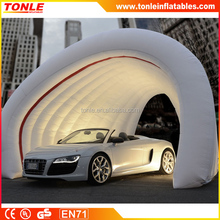 Outdoor inflatable Car Storage Bubble/ Inflatable car Storage Tent for sale