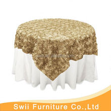 Chinese banquet table cloth bamboo table cloth