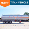 Fuel tank trailer , 3-AXLE 50000 liters fuel tank semi trailer for sale