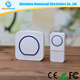 Waterproof Smart Wireless Funny 220V Hotel Music Doorbell Chimes System Christmas Wireless Button For Apartments