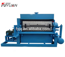 Second hand waste paper recycling egg tray making machine with brick drying production line