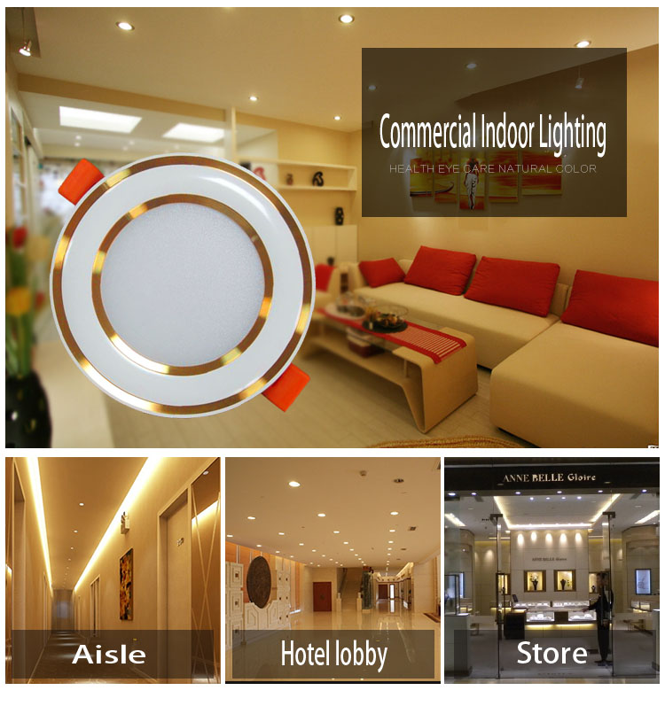 competitive advantage dimmable smd led downlighting 3w shopping