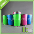 16oz Single-Wall Food Canister Steel Pint Cups