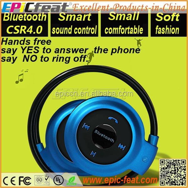 EP-Q7 sport sweatproof bluetooth headphone, bluetooth wireless headphone, wireless headphone with handsfree