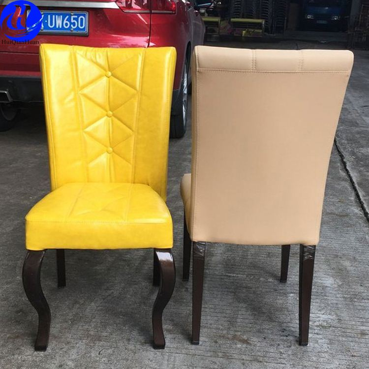 Foshan wholesale imitation wood aluminum chair for hotel