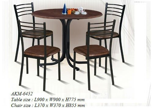 Dining Set, MDF Dining Set, Dinner Table - AKM-6452