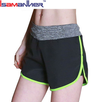 Breathable running gym workout athletic sports yoga shorts women sexy
