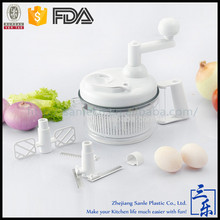 Direct Manufacture Home Use Plastic mini food processor