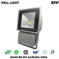 80w projector rechargeable light commercial light led outdoor flood light