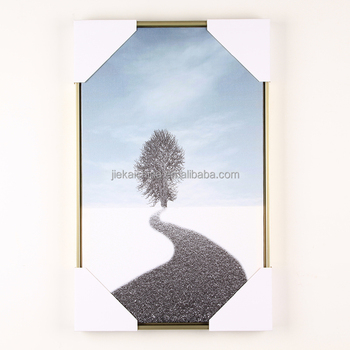 Home decor oil painting for wall art Printed canvas with frame