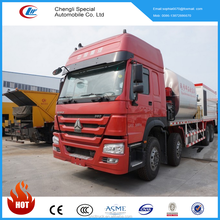 China Asphalt Distribution Tank, HOWO Bitumen And Gravel Synchronous Seal Truck for sale