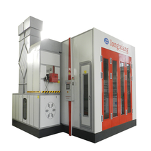 car paint spray booth is powder coating oven with BELIMO damper actuator