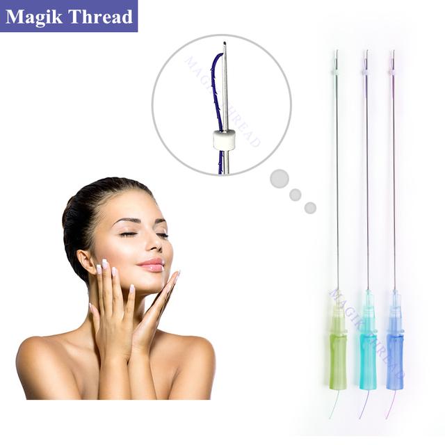 High Quality Face Lifting Mesotherapy Needles facial V shaping pdo cog thread lift