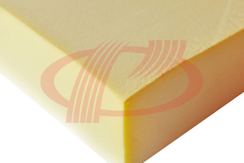 high reilient rubber texture pure foam mattress