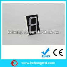 7 segment led display 1 digit led display used for air-conditioner