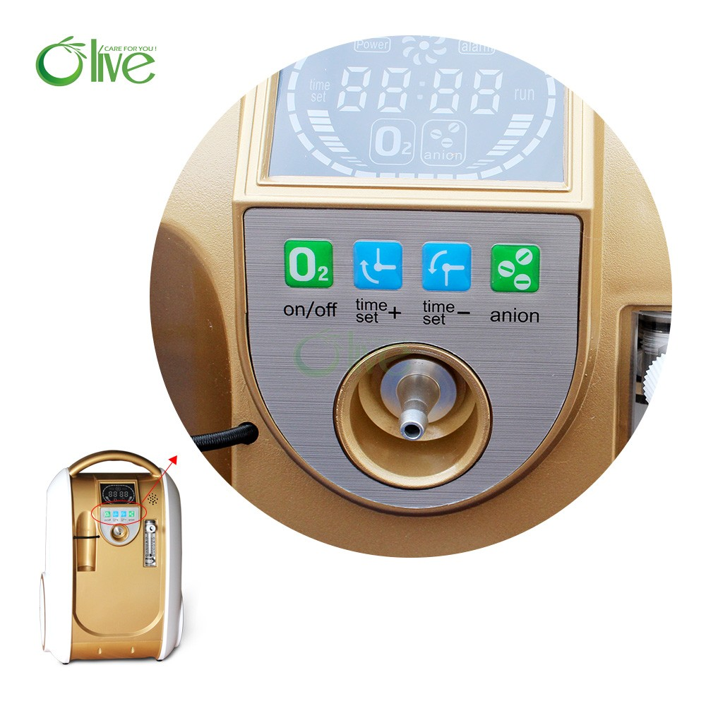 Mini electronic portable oxygen concentrator OLV-B1