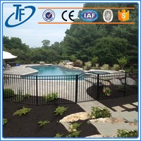 Galvanized swimming pool , invisible pool fencing