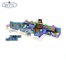 Cheap soft kids pirate ship indoor playground equipment