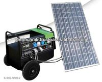 Mobile Solar Generator 230V 1KW - GEO Technik Germany
