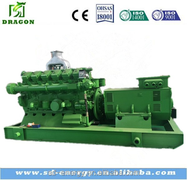 Global service bamboo/wood as fuel biomass generator set