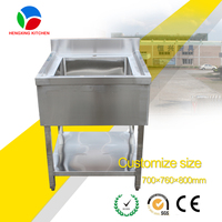 Manufacturer Free Standing Stainless Steel Utility