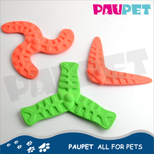 Professional manufacture fashion soft rubber pet dog tpr throw toy
