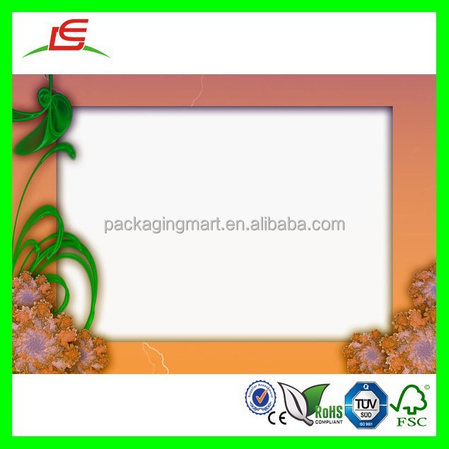 D098 Paper Mache Flat White Box Frame Wholesale
