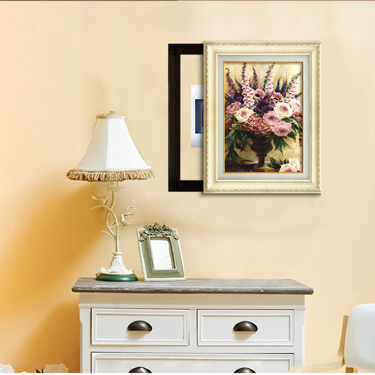 Plastic Colored Picture Frames Lot Decorative Painting Canvas Frame