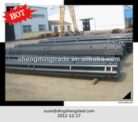 petroleum and natural gas black pipe Line pipe