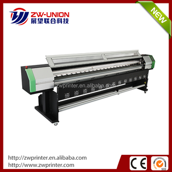Full aluminum platform roll to roll digital UV screen printer