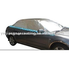 Sun shades UV protection 3layer Polypropylene Half Car Cover