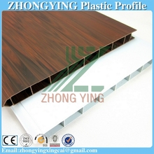Spot supply 4 kinds Woodgrain plastic door decoration panel
