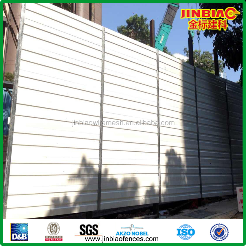 Singapore Construction Temporary Acoustic Barriers